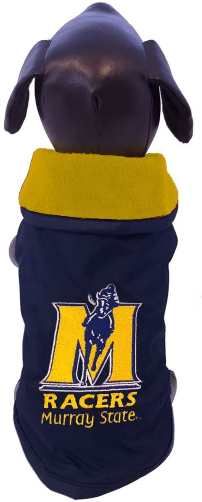 NCAA Murray State Racers All Weather-Resistant Protective Dog Outerwear, Tiny