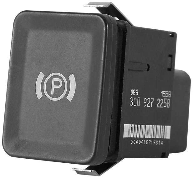 Cuque Parking Brake Button Switch Car Electronic Parking Brake Control Switch Electron Brake Stop Light Switch for R36 2005-2011 CC 2008-2011 3C0 927 225C 3C0927225C 3C0 927 225B 3C0927225B
