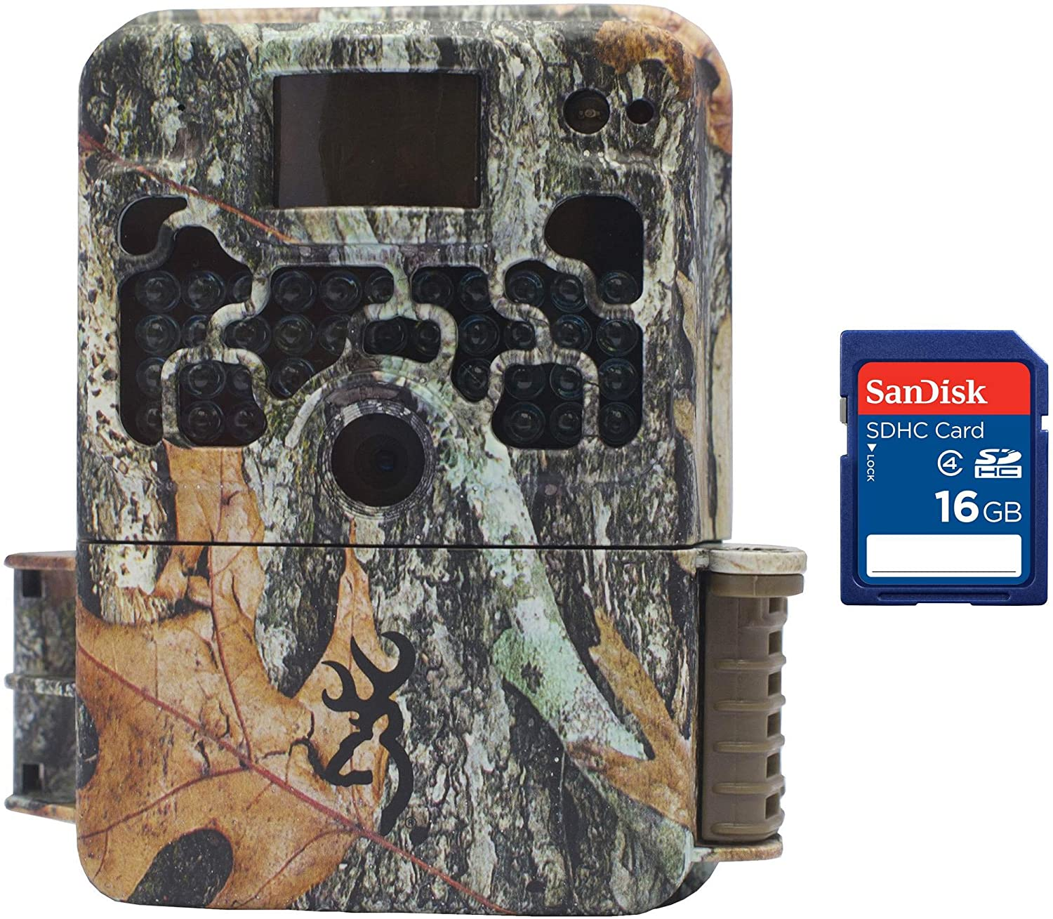 Browning Trail Cameras Strike Force 850 HD Video 16MP Game Camera + 16GB SD Card