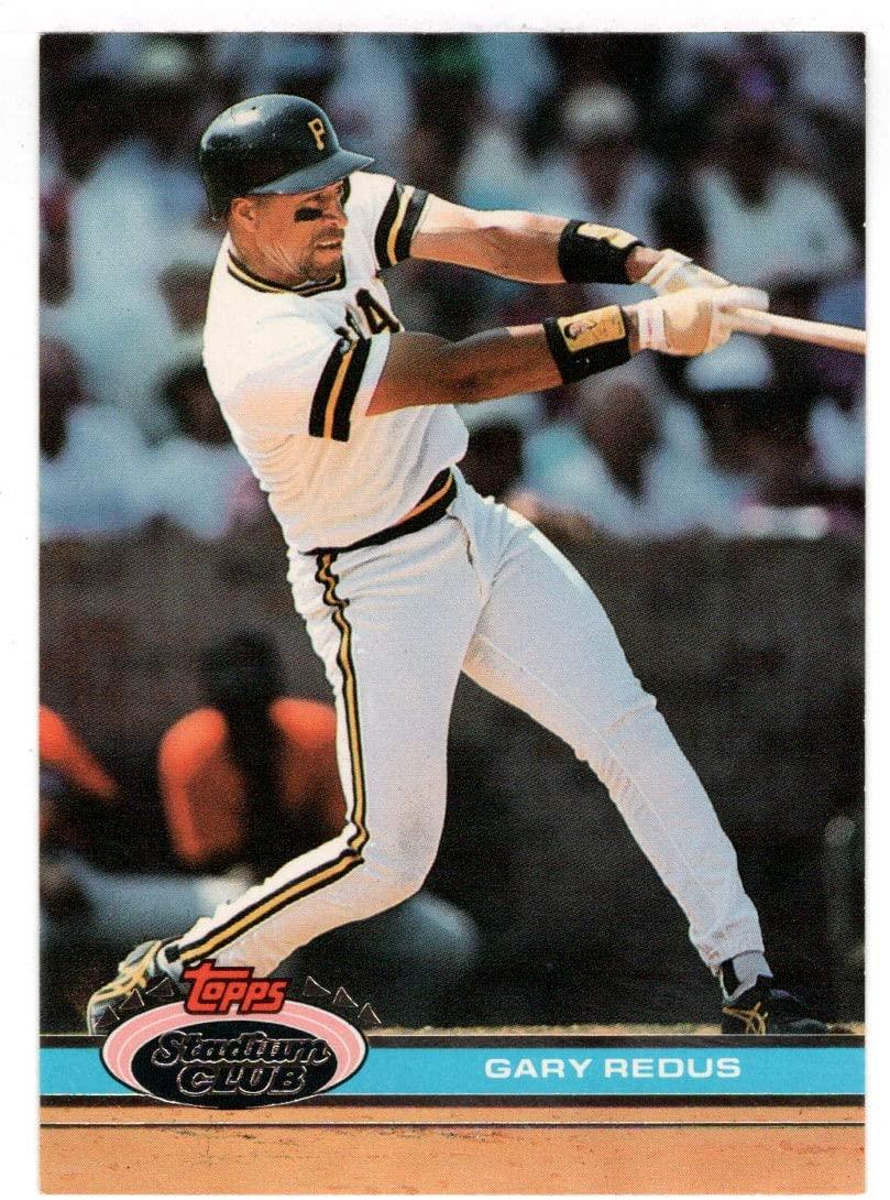 Gary Redus - Pittsburgh Pirates (Baseball Card) 1991 Topps Stadium Club # 486 Mint