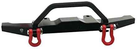 Parts & Accessories Upgrade Metal Front Bumper Guard Spare Parts for WPL 1/16 C14 C24 RC Truck Car Toys for Children RC Car Parts - (Color: Black, CN)