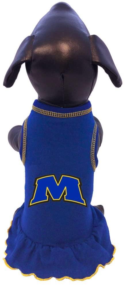 NCAA Morehead State Eagles Cheerleader Dog Dress, Tiny