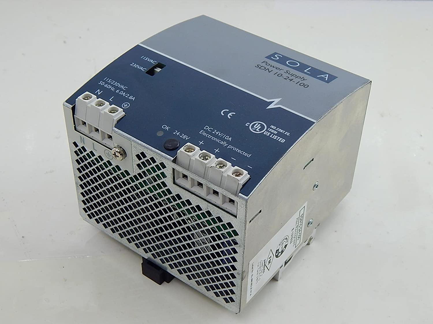 SOLA SDN 10-24-100 Power Supply T11910