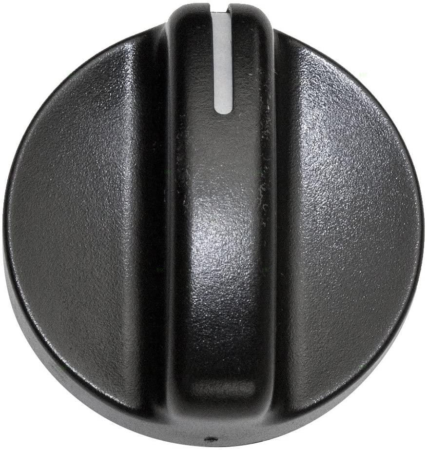 A/C AC Heater Blower Fan Temperature Control Knob Replacement for Dodge Pickup Truck 04882482 AutoAndArt