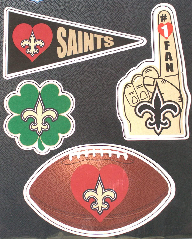 New Orleans Saints 4 Pack Team Magnets