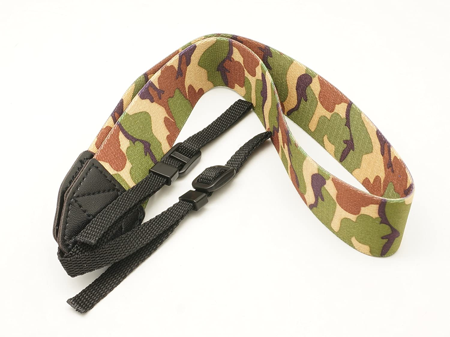 Gadget Place Camouflage Camera Strap for Canon EOS 90D 80D 800D 250D Rebel SL3 / Kiss X10 T7 2000D 4000D 6D Mark II SL2 200D Kiss X9 77D 9000D T7i Kiss X9i 5D Mark IV T6 1300D 80D