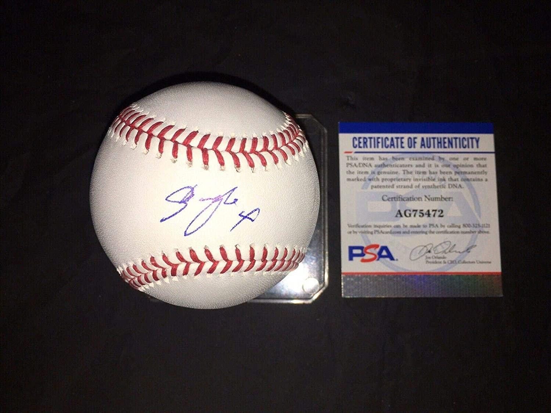 Shogo Akiyama Signed Official Major League Baseball Cincinnati Reds #6 - PSA/DNA Certified - Autographed Baseballs