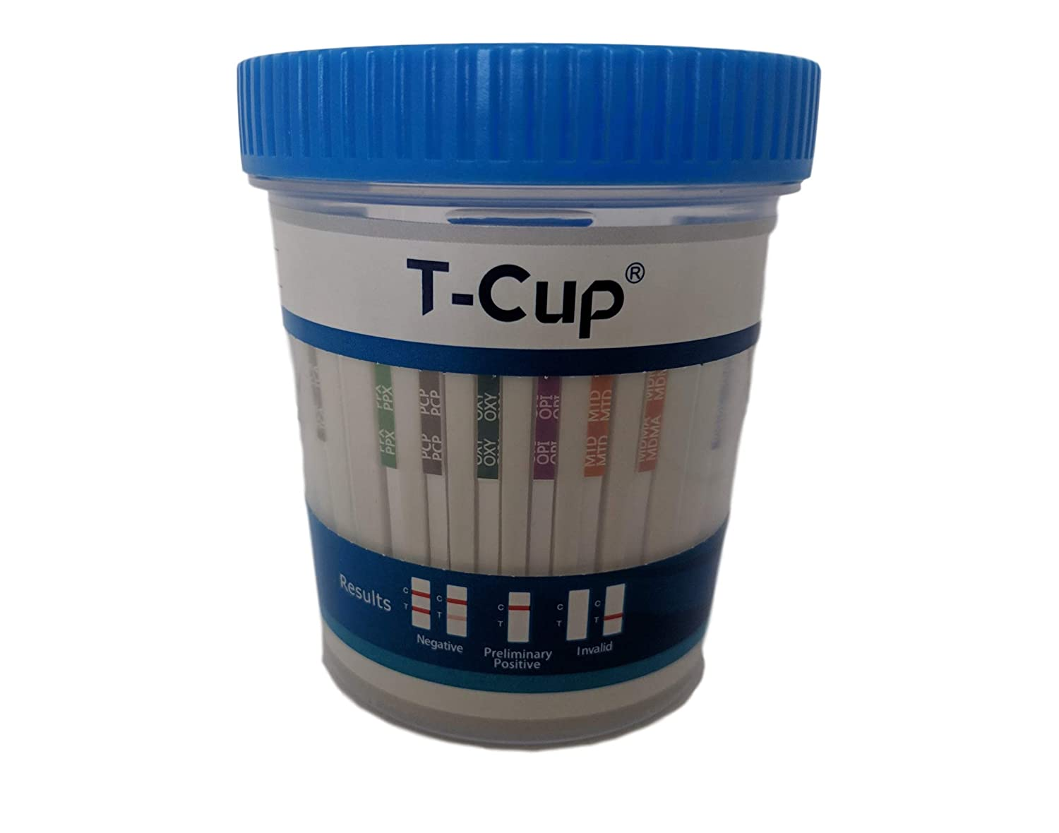 100 Pack of 14-Panel Drug Testing KitIncluding 3 Adulterate Test. Test Instantly for 14 Different Drugs.