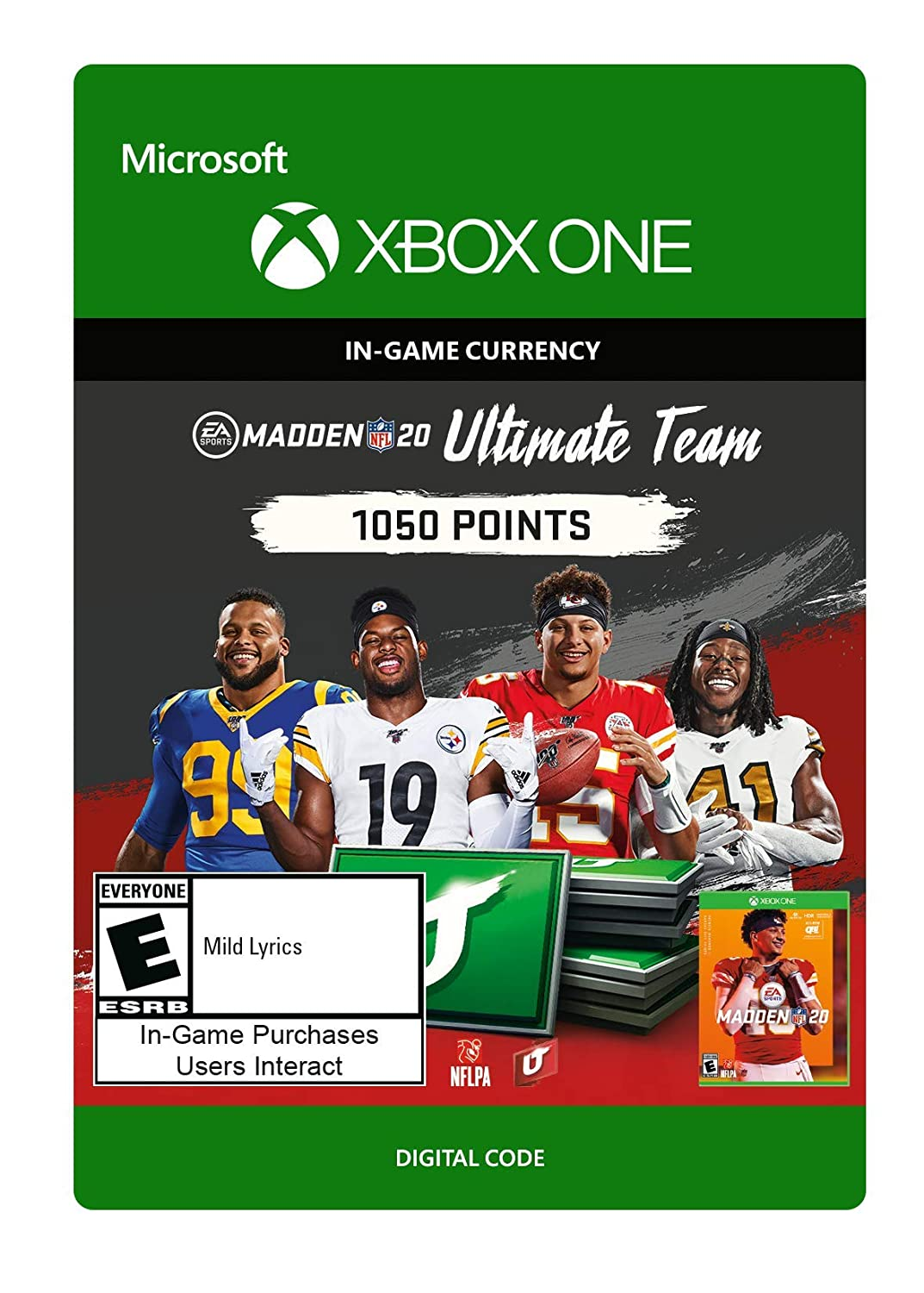 Madden NFL 20: MUT 1050 Madden Points Pack - [Xbox One Digital Code]