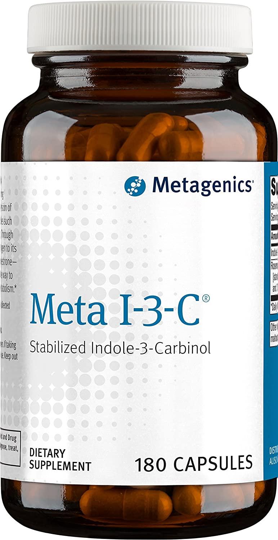 Metagenics - Meta I-3-C, 180 Count