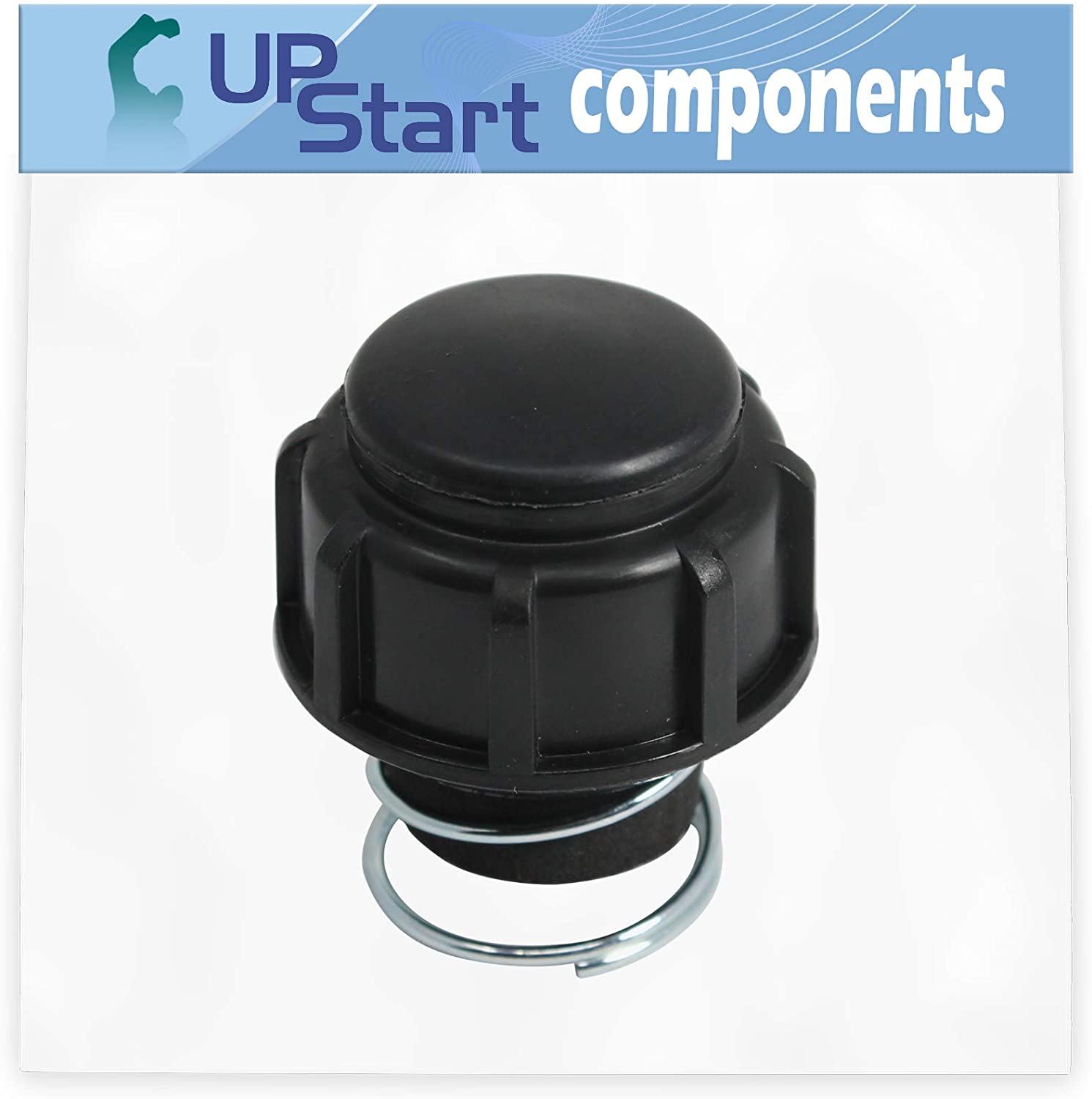 UpStart Components 791-181468B Bump Head Knob Assembly Replacement for Ryobi 725r (41DD725A034) Handheld Trimmer - Compatible with 181468 Bump Knob and Spring Assembly