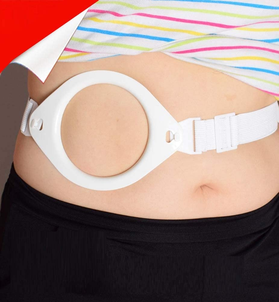 Rziioo Ostomy Pocket Belt Reinforcer,Suitable for All Leakage Pocket Ostomy Bag,Elasticity Band Fixed Suit