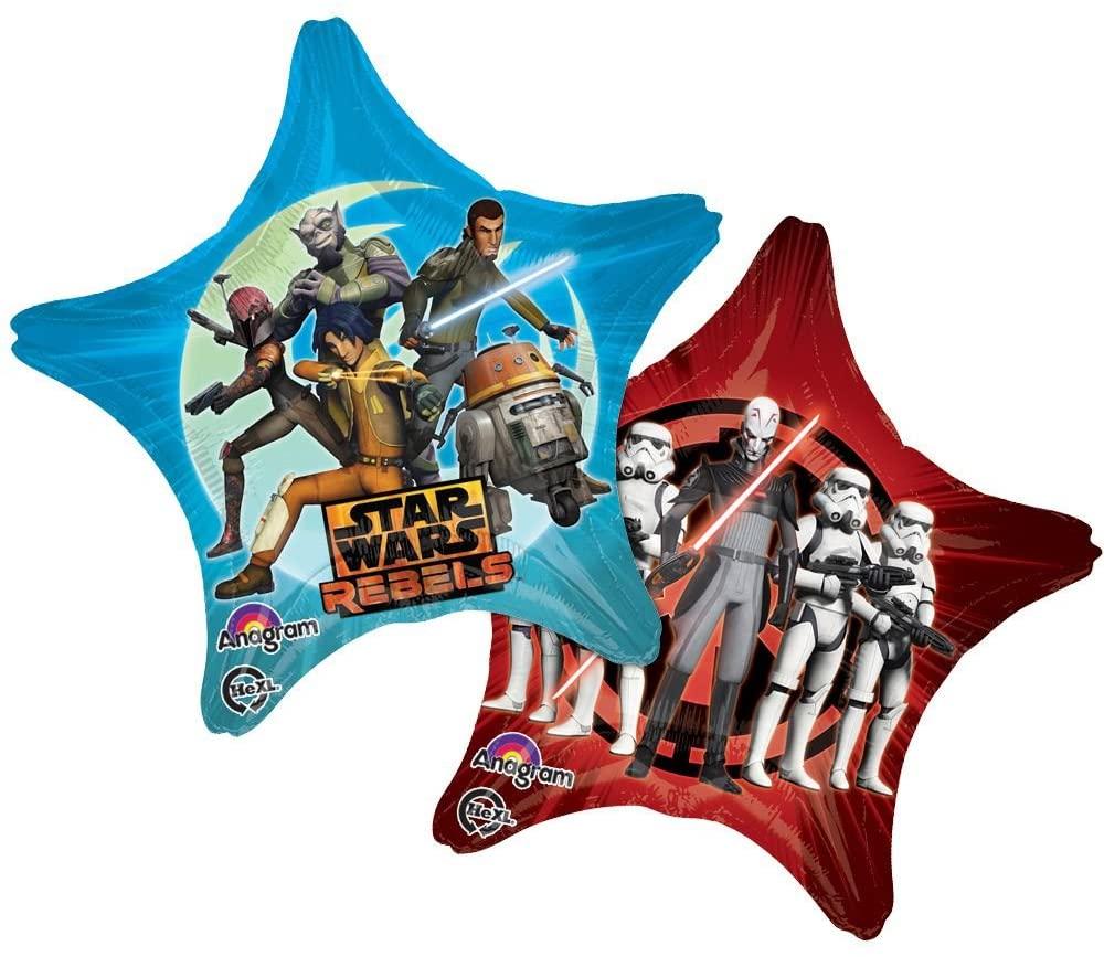 Anagram Mayflower BB67278 Star Wars Rebels 28 in. Star Balloon