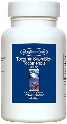 Allergy Research Group Tocomin Suprabio Tocotrienols 200 mg 60 Sgels