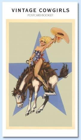 Vintage Cowgirls Postcard Booklet