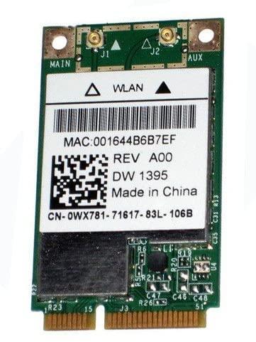 DELL PRECISION M65 M90 M4300 INSPIRON 1720 Wireless Card DW 1395 4312BG WX781