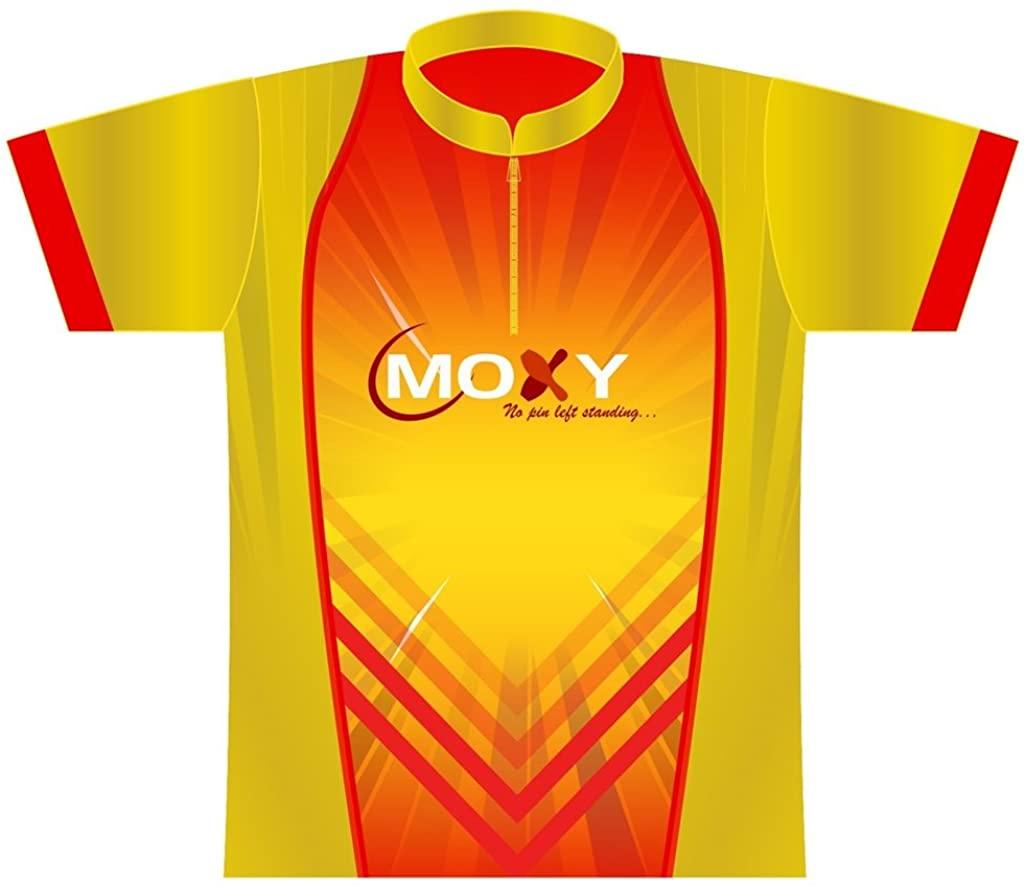 Moxy Dye-Sublimated Jersey- Flash (Ladies Medium, Yellow/Red)