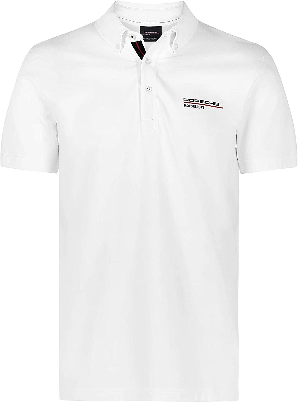 Porsche Motorsport Men's White Polo