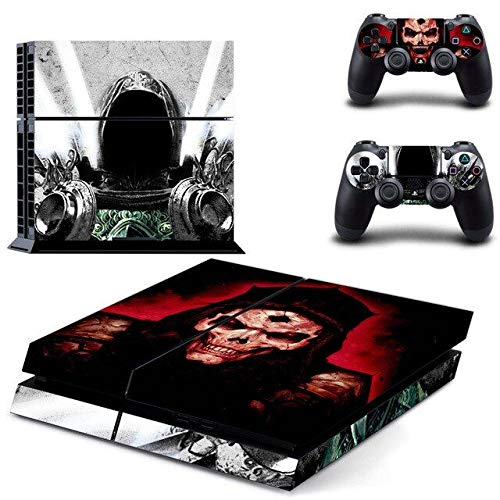 Japan Warrior - PS4 Skin Console and 2 Controller, Vinyl Decal Sticker Full Cover Protective by Mr Wonderful Skin