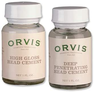 Orvis High-Gloss Head Cement/Only Deep-penetrating Head Cement,