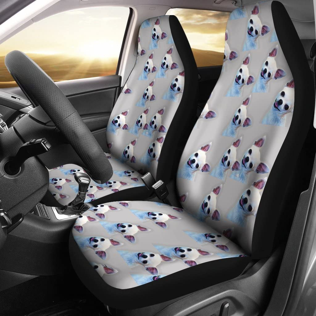 Great Breed Store Chihuahua Dog Patterns Print Car Seat Covers
