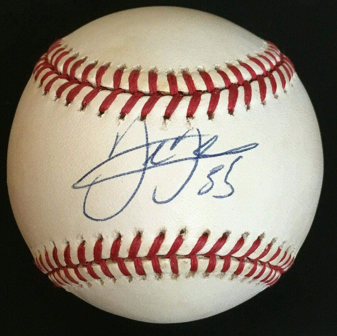 Signed Frank Thomas Ball - Official AL HOF COA - PSA/DNA Certified - Autographed Baseballs