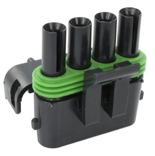 Automotive Connectors 4P FM BLK CON ASSY 20 AMPS (10 pieces)