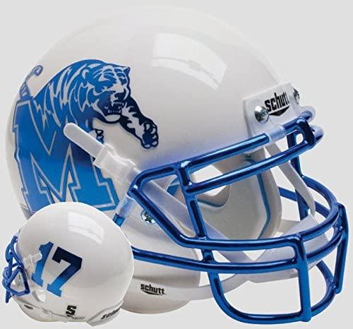 Schutt NCAA Memphis Tigers On-Field Authentic XP Football Helmet