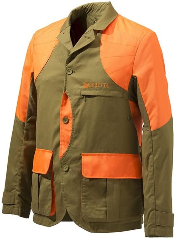 Beretta Men's Upland Light Jacket Brown/Orange HV XL