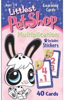 Littlest Pet Shop Multiplication Cards