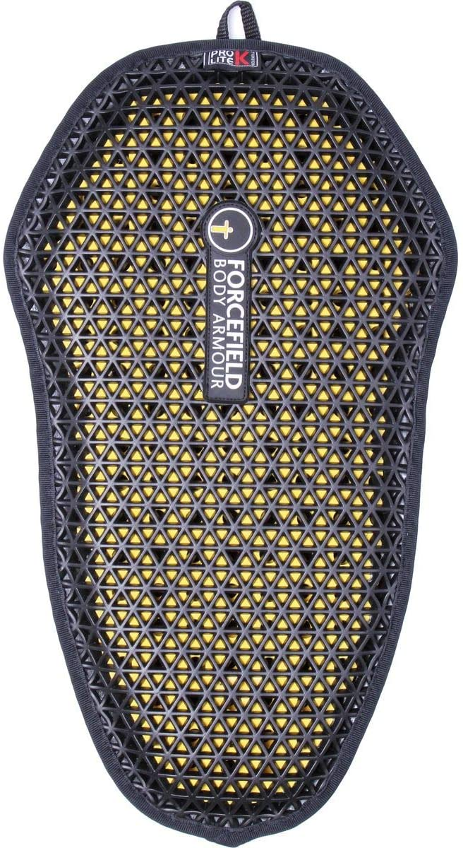 Forcefield Body Armour Pro Lite K Back Insert (007) (Black/Yellow)