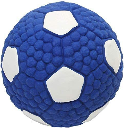 PALIDUO Durable Squeaky Dog Play Chew Fetch Ball Football Suit for Toy Interactive Fetch and Play Accessories