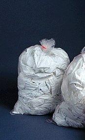 Medegen Medical 1-348 Melt-A-Way Biodegradable Water Soluble Linen Collection Bag, 36