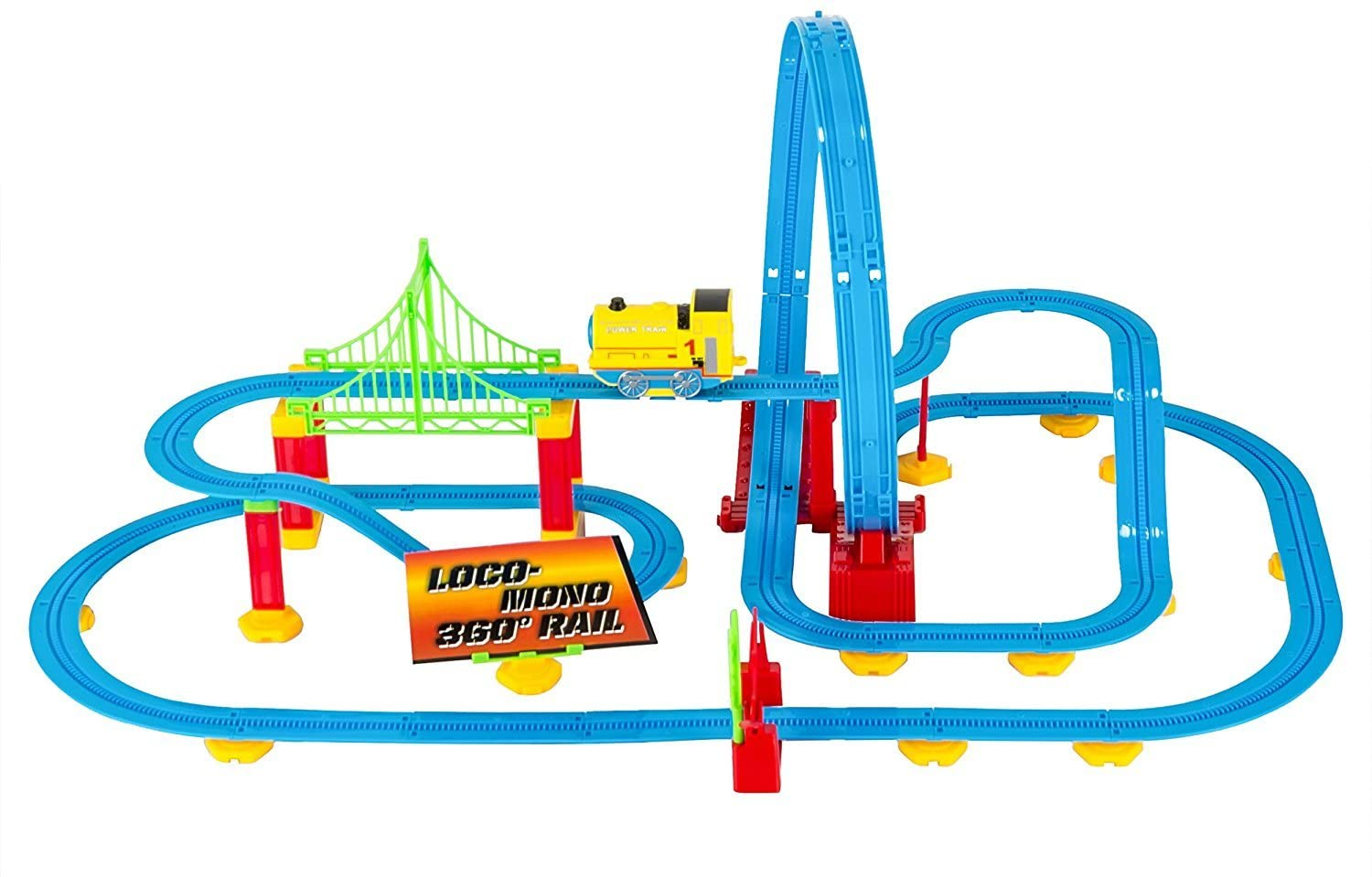 Kovot Looping Train Coaster Building Set - 82 Pieces