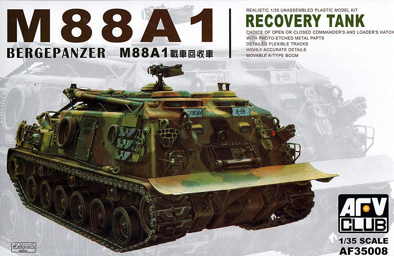 M-88A1 Bergepanzer Recovery Tank 1-35 AFV Club