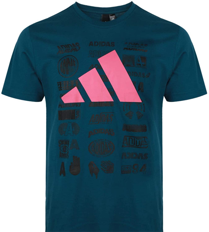 adidas Men's Athletics Short Sleeve Pack Tee, Tech Mineral