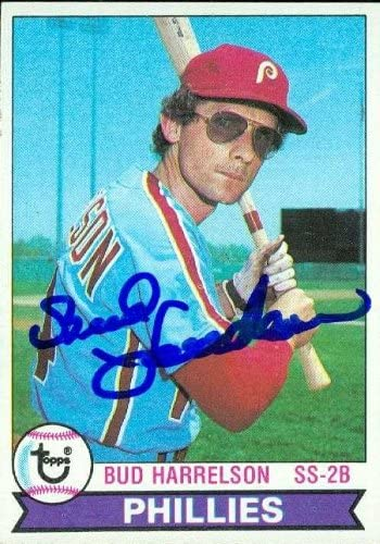 Bud Harrelson autographed Baseball Card (Philadelphia Phillies) 1979 Topps #118