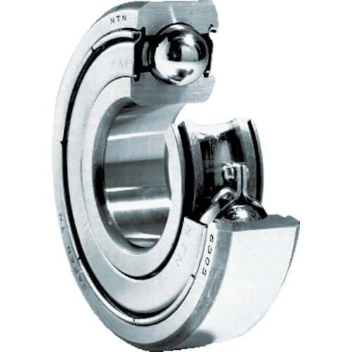 NTN Bearing 6405ZZ Single Row Deep Groove Radial Ball Bearing, Normal Clearance, Steel Cage, 25 mm Bore ID, 80 mm OD, 21 mm Width, Double Shielded