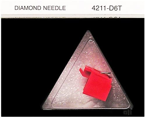 Durpower Phonograph Record Player Turntable Needle For JVC DT55/II, JVC DT-58, JVC DT-55W, MAGNAVOX 5690600007