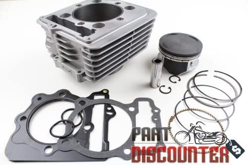 BIG BORE CYLINDER PISTON GASKET KIT SET FOR HONDA XR400R XR 400R 89MM 440CC