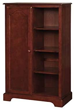 Furniture of America Talia Transitional Closet Storage in Cherry