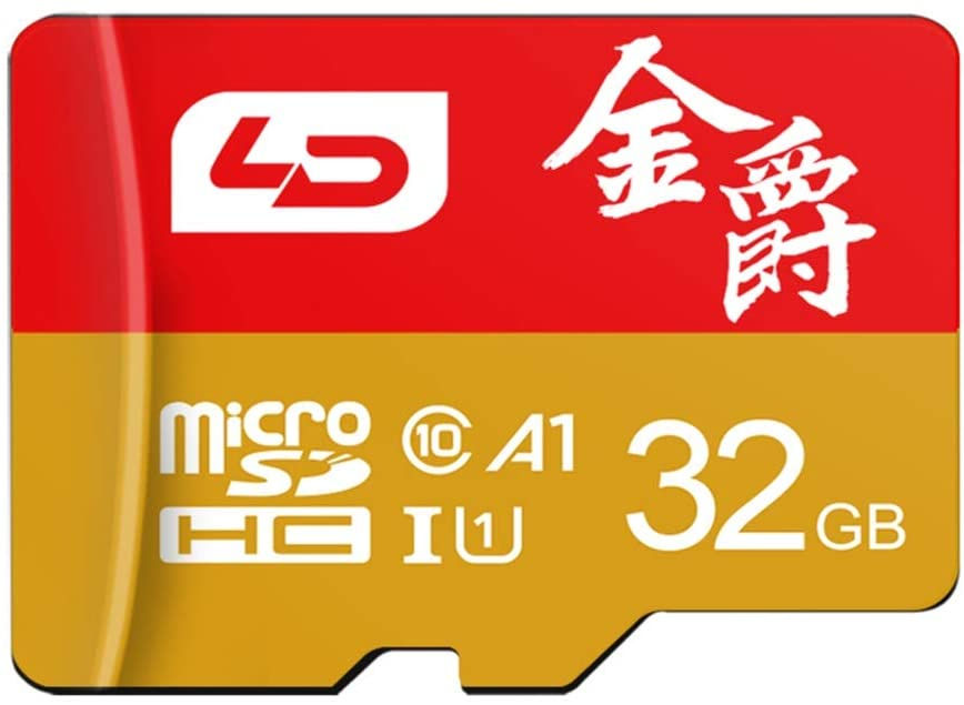 ANUST TF (Micro-SD) Memory Card U1C10 Read 80MB/s Speaker Point Reading Machine Driving Recorder Monitoring Camera Phone Memory Card (Size : 32GB)