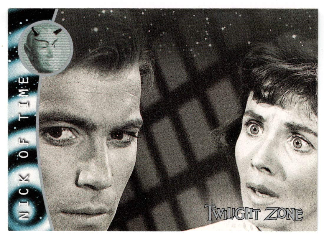 Epilogue - Nick of Time - Twilight Zone - The Next Dimension (Trading Card) # 78 - Rittenhouse Archives - 2000 Mint