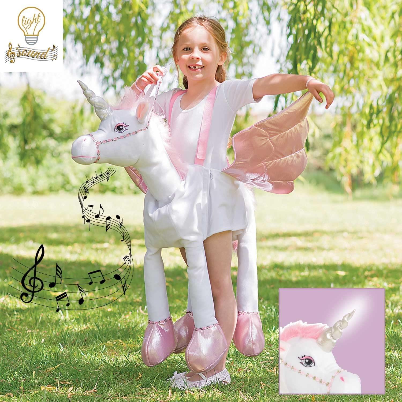 Amscan Childrens Light and Sound Unicorn Costume