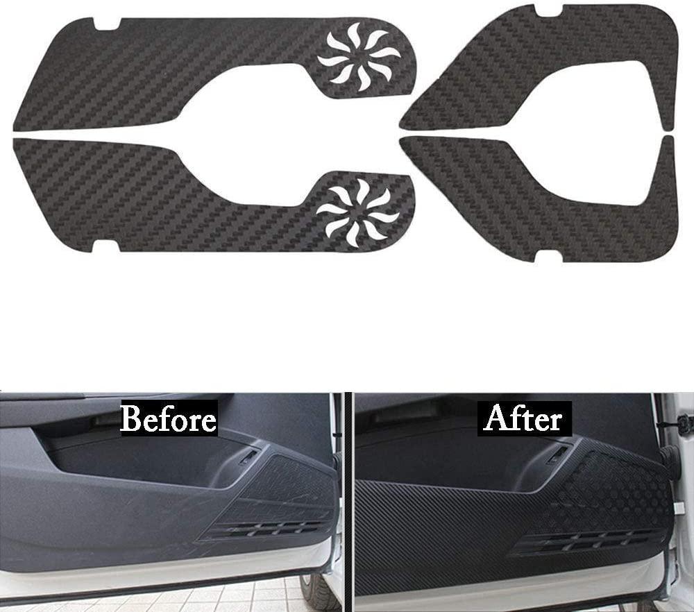 LUVCARPB Car Interior Door Anti-Kick Styling Cover Sticker Accessories, Fit for Honda Accord 2014-2017
