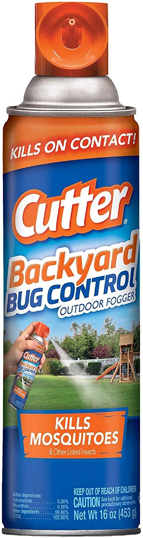 Cutter Backyard Bug Control Outdoor Fogger, 16-ounce, 12-Pack