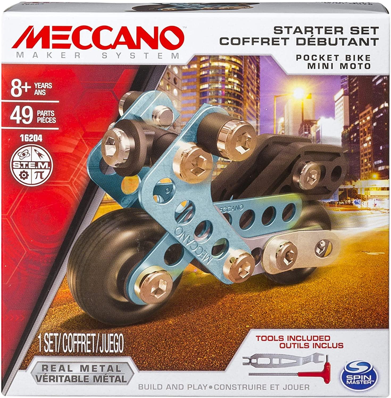 Meccano Starter Set Asst CDU - Pocket Blue