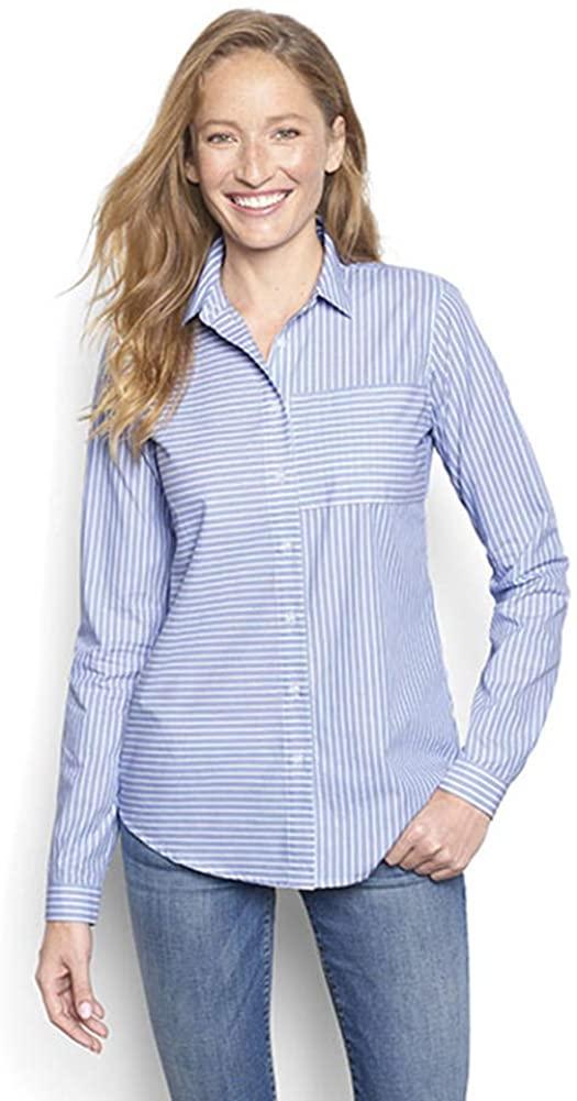 Orvis Women's Relaxed Long-Sleeved Striped Shirt