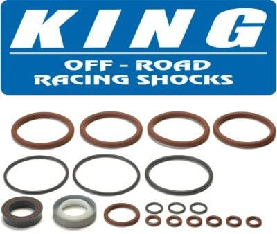 Pacific Customs King 2.5 Shock Piggy Back Reservoir Viton Seal Rebuild Kit