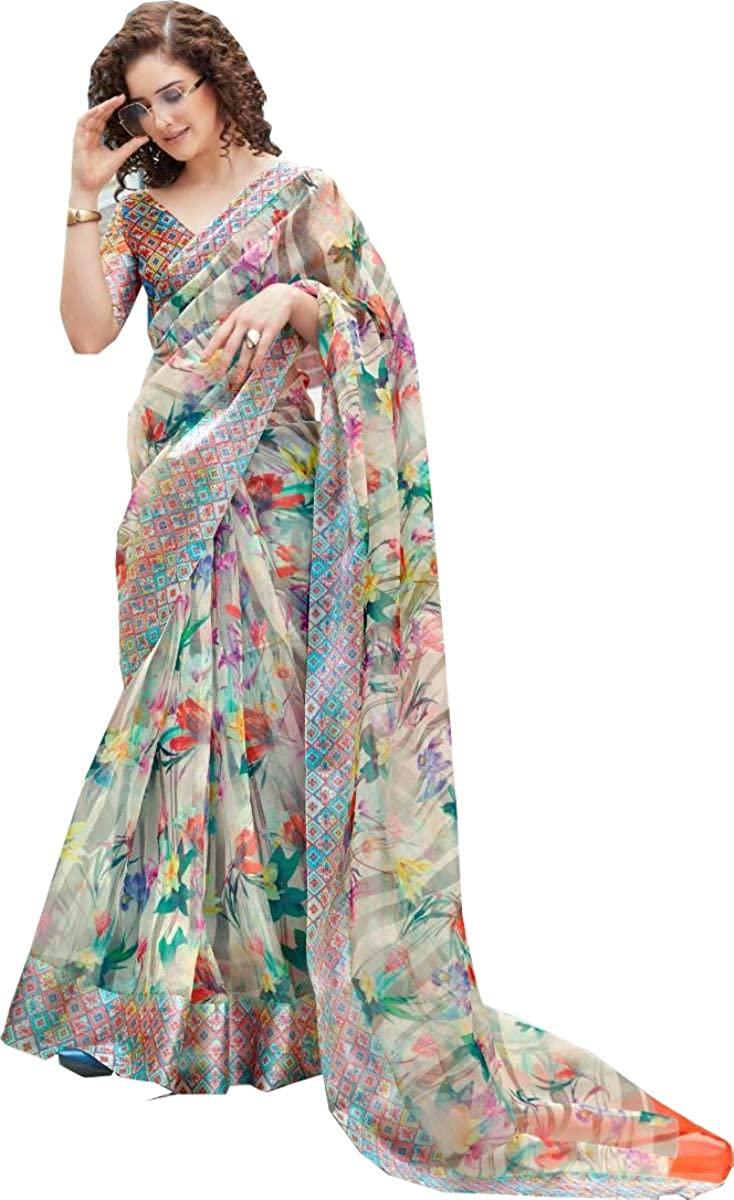 Ethnic Wear Traditional Silk Saree Cotton Linen Silk Saree Party Wear Saree Wedding Saree 1174 White